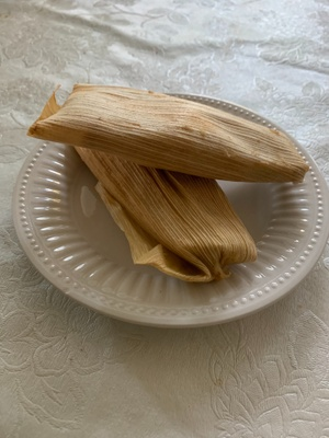 tamales made by my mom
