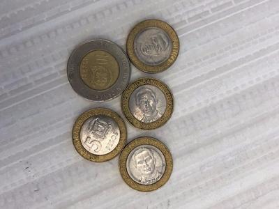 Pesos from Mexico