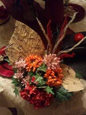 An arrangement from 2012 my mother did