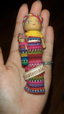 Guatemalan rag doll, grandma's gift