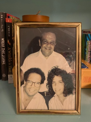 Photo of my Grandpa my Dad and my Aunt