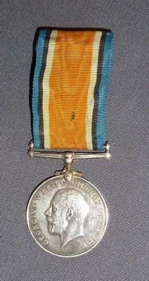 WW2 Medal- Dublin Fusiliers.