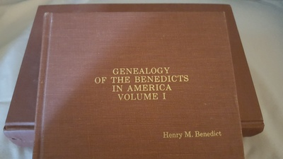 Genealogy Volumes, Benedict Family
