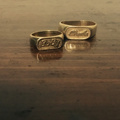 my parent's wedding rings