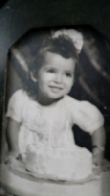 My Grandmother at age 2