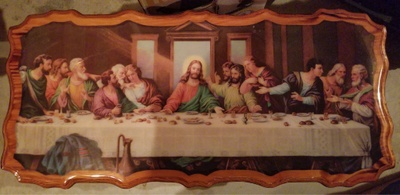 """The Last Supper"" by Leonardo Da Vinci (replica)"