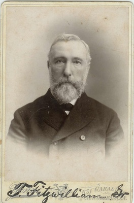Thomas Fitzwilliam, circa 1900, New Orleans