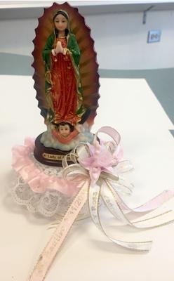 Virgen de Guadalupe statue
