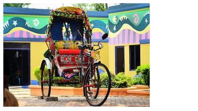 Bangladeshi rickshaw