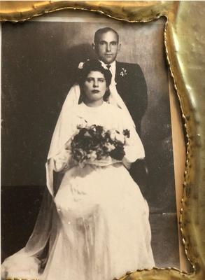 Hovhaness Pounardjian Wedding Portrait