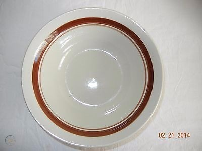 bowl has a brown line inside