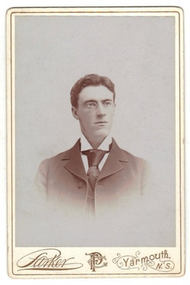 Dr Melbourne Armstrong about 1892, when he was caring for tenement dwellers in New York.