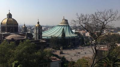 The main church in Mexico City.