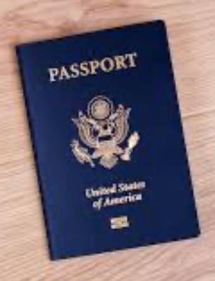 Picture of a U.S passport