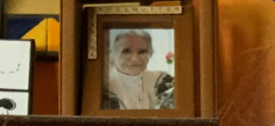 A photo of my great grandmother, Marie