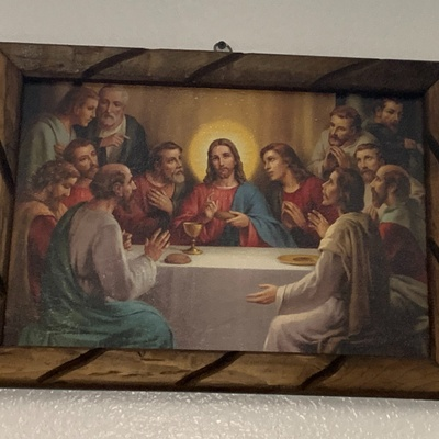 Jesus Last supper portrait