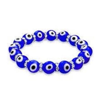 This is an evil eye bracelet .