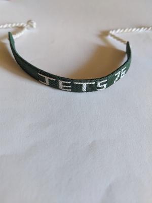 A green bracelet that I got in Jerez.