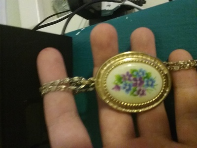 One of the lockets grandma had for her three daughters