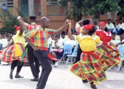 Dancing in Tortola