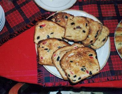 Photo of Christmas Bread circa 1997