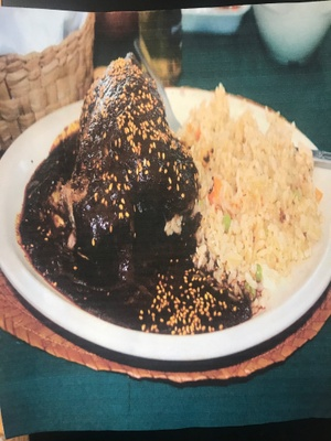 Mole- My Favorite Mexican Food