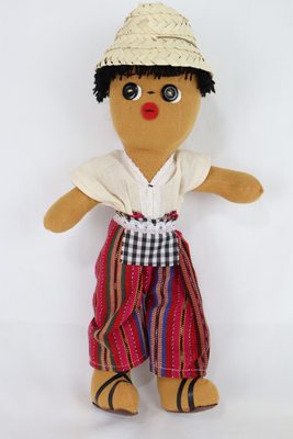 This is a doll from Guatemala