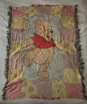 My childhood Winnie The Pooh blanket