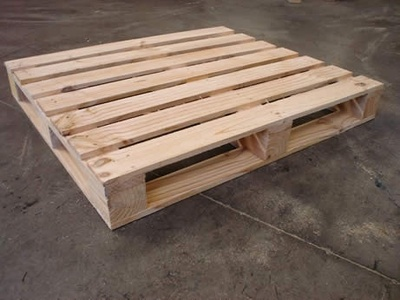 It is a picture of a pallet