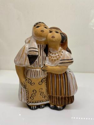Pottery figurine made in Kosovo