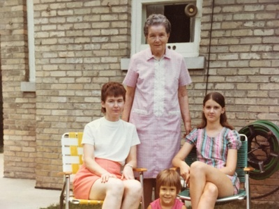 Family photo taken in 1972