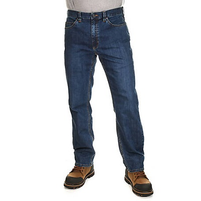jeans, my dad wears them to work