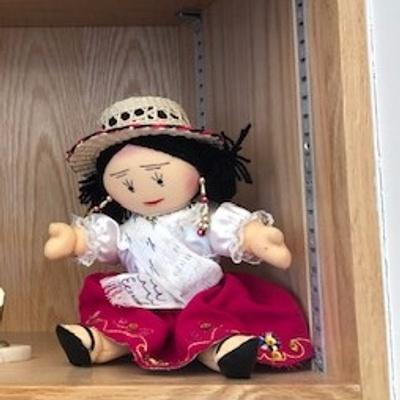 Ecuadorian Traditional Doll