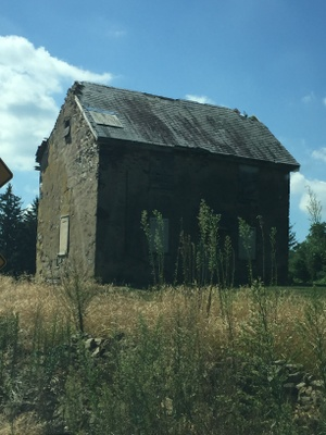 Abandoned tenant farmhouse, Greenville, Delaware