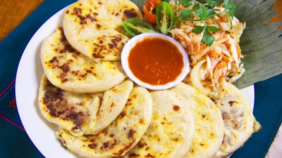 These are pupusas from Guatemala.