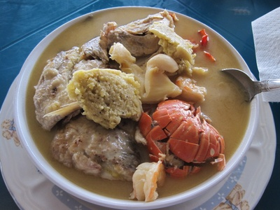 traditional food of my country Honduras