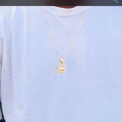 A chain that signify my leadership and royalty.