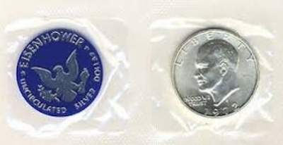 U.S. Ike Dollar Coin