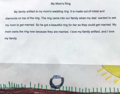 Family Artifact Paragraph