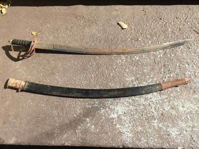 WWI Cavalry Sabre made in India.