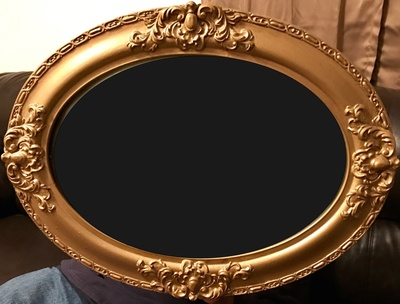 Handcrafted ornate frame