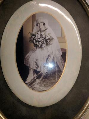 Bessie's Wedding Photo, 1926