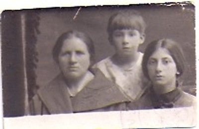 Grandmother, mother and aunt  Passport
