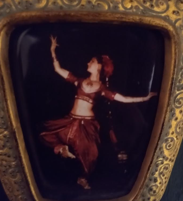 A photo of my grandmother dancing