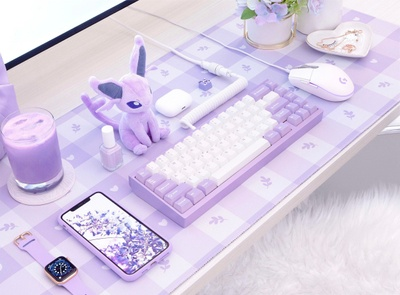 Clean lilac set up