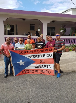 My community coming together after Hurricane Maria.