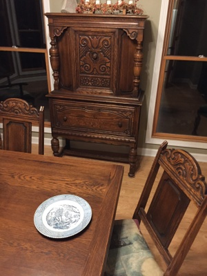 Dining room furniture from great-grandparents