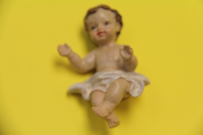 Small statue of baby Jesus