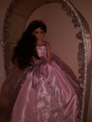 My sister's Quinceanera(15th b-day) doll