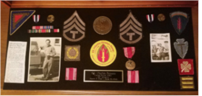 Great Grandfather's World War II Medals